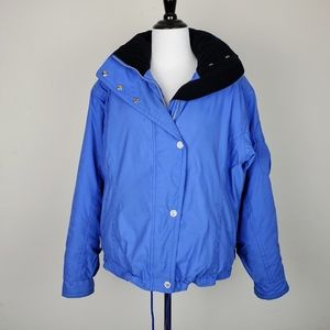Obermeyer Northern Lights Blue Ski Jacket Coat